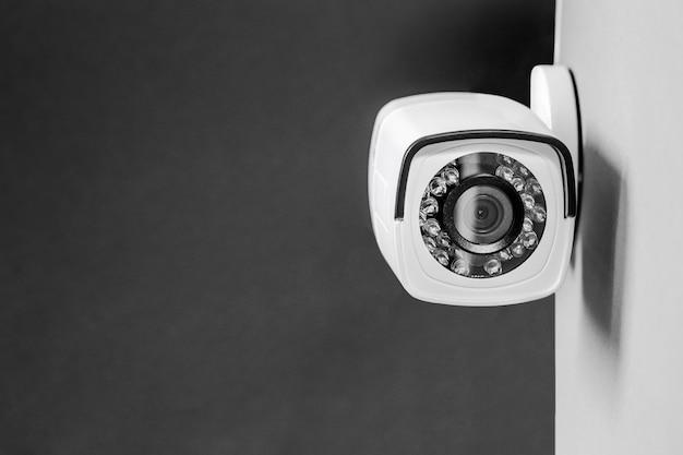 Überwachungskamera. sicherheitssystem. Premium Fotos