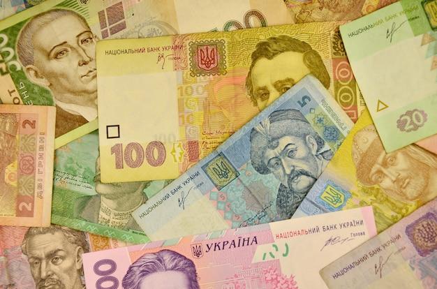Ukrainische landeswährung Premium Fotos