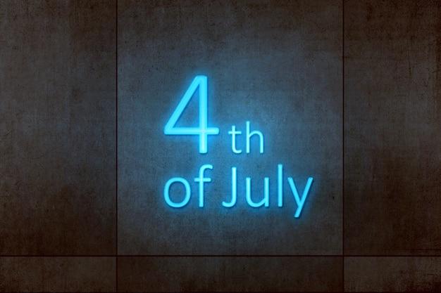 Unabhängigkeitstag 4. juli Premium Fotos