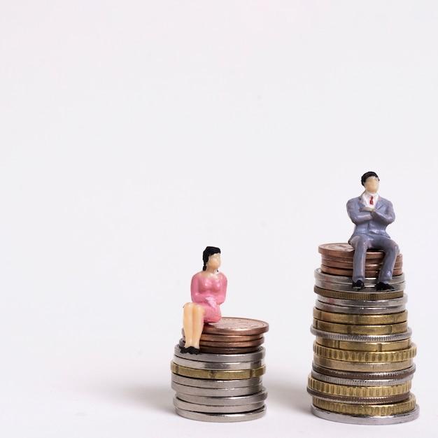 Ungleichheit zwischen mann und frau bei der bezahlung Kostenlose Fotos