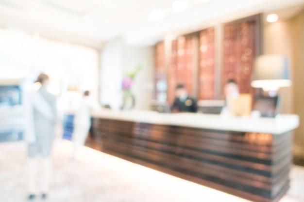 Unscharfe hotelrezeption Kostenlose Fotos