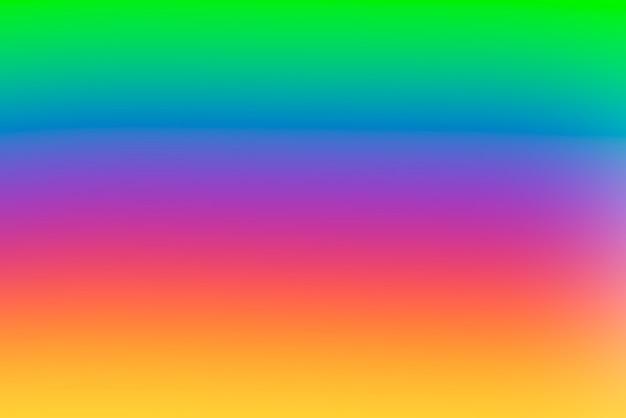 Unscharfer abstrakter hintergrund mit farbverlauf mit lebendigen primärfarben Kostenlose Fotos