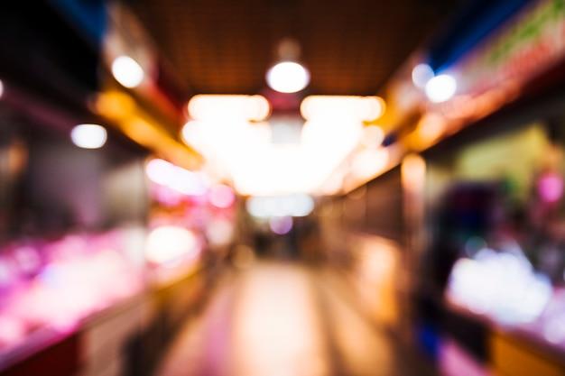 Unscharfer supermarkthintergrund Kostenlose Fotos