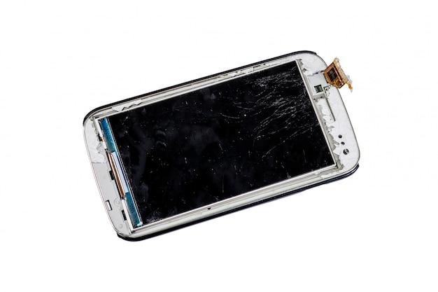 Unterbrochenes intelligentes telefon getrennt Premium Fotos