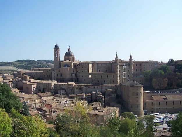 Urbino, italien Premium Fotos