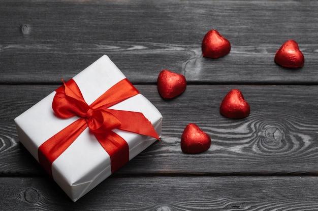 Valentinstag geschenk für eine frau Premium Fotos