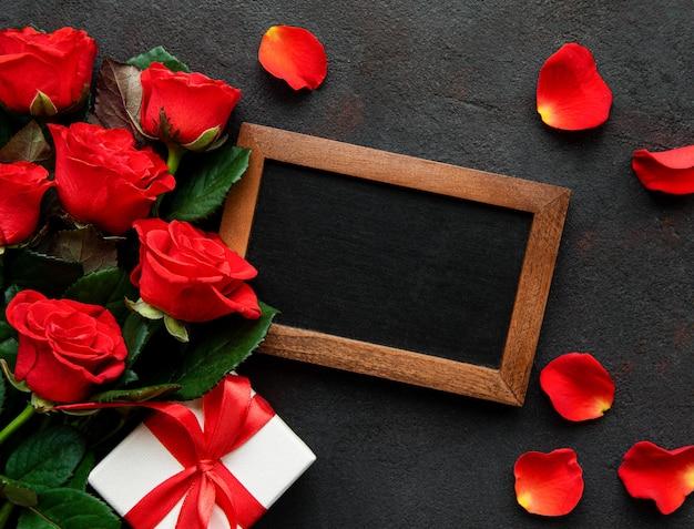 Valentinstag hintergrund Premium Fotos