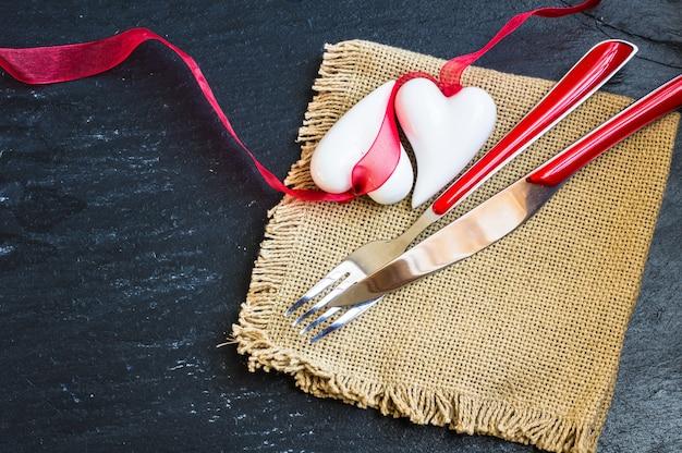 Valentinstag-konzept Premium Fotos