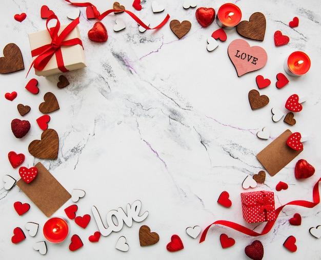 Valentinstag romantisch Premium Fotos
