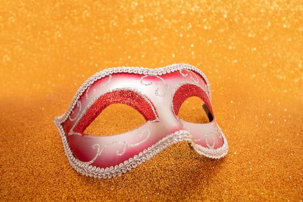 Venezianische karnevalsmaske Premium Fotos