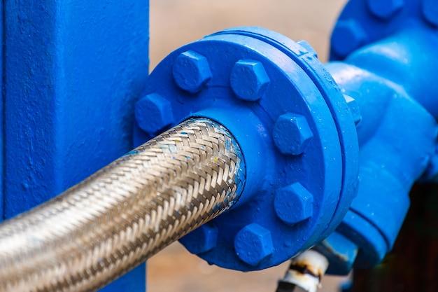 Ventile im gaswerk Premium Fotos