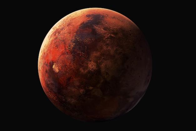 Venus-ansicht. elemente dieses bildes werden von der nasa geliefert Premium Fotos