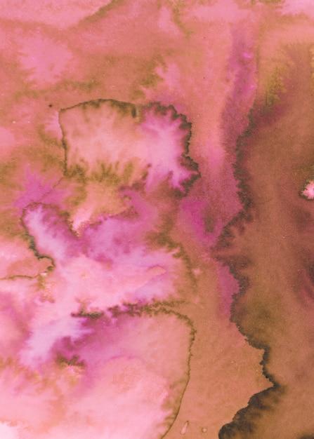Verbreiten sie aquarell textur hintergrund Kostenlose Fotos