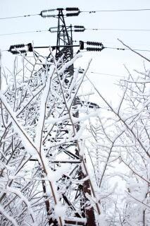 Vereisten stromleitungen Kostenlose Fotos