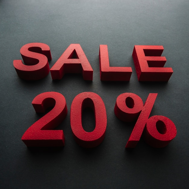 Verkauf mit 20 prozent rabatt Kostenlose Fotos