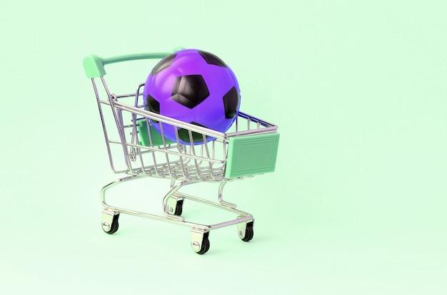 Verkauf von sportgeräten. vorhersagen für spiele. sportwetten Premium Fotos