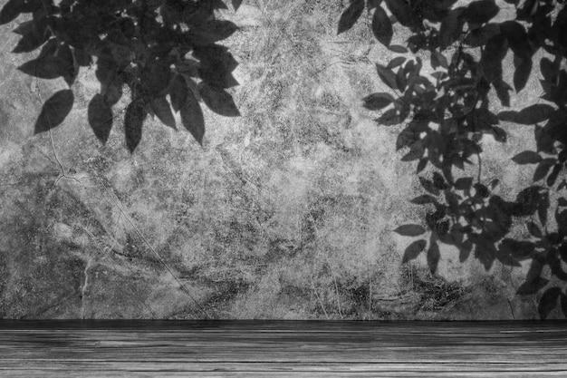 Verlassener und alter grauer betonwandhintergrund. Premium Fotos