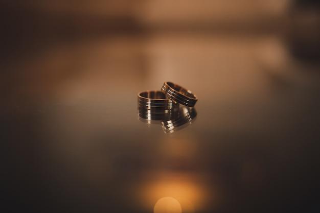 Verlobungsringe Premium Fotos