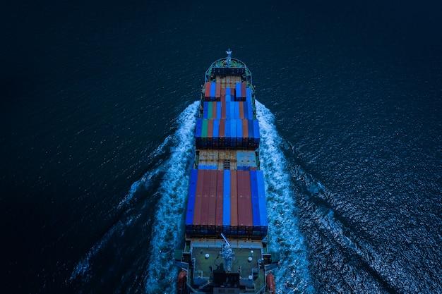Versand von fracht- und servicelieferungen für unternehmen und industrie international Premium Fotos