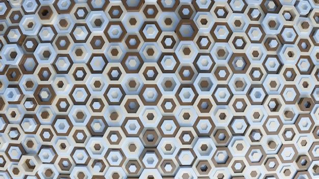 Verschiedene farbige hexagone Kostenlose Fotos
