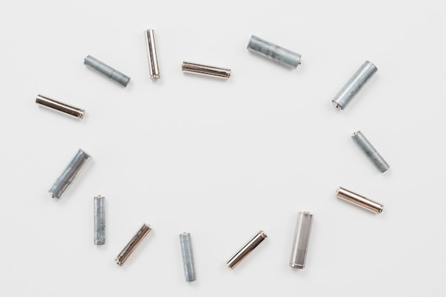 Verschiedene gebrauchte batterien für das recycling Kostenlose Fotos