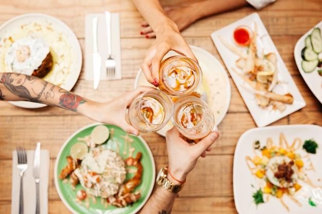 Verschiedene Gerichte von leckerem Essen | Download der kostenlosen ...