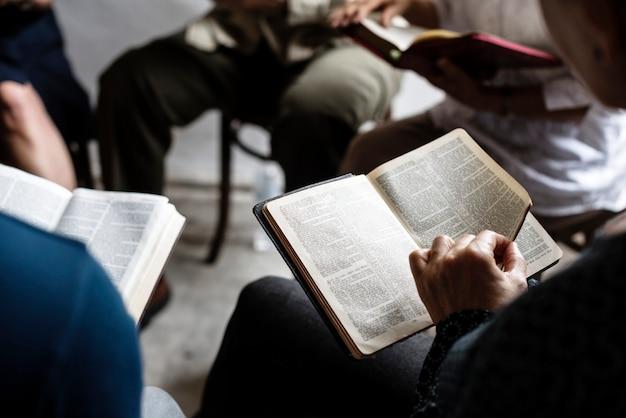 Verschiedene religiöse triebe Premium Fotos