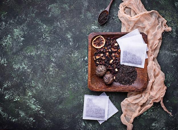 Verschiedene teesorten Premium Fotos