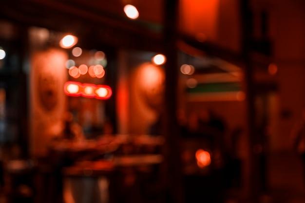Verschwommene lichter der stadt Kostenlose Fotos