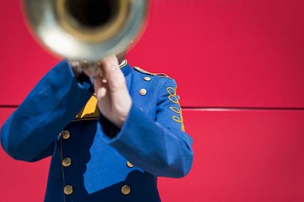 Verschwommenes trompete Kostenlose Fotos