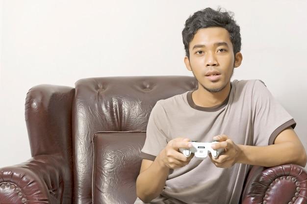 Videospiel spielen Premium Fotos