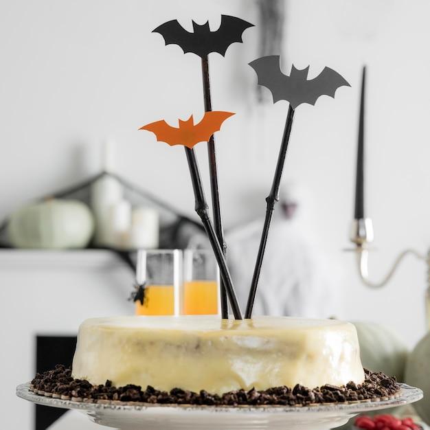Vielfalt an leckereien für halloween-party Kostenlose Fotos
