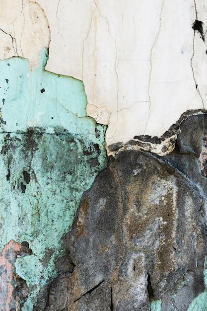 Vielzahl der alten farbigen gemalten steintapete Kostenlose Fotos