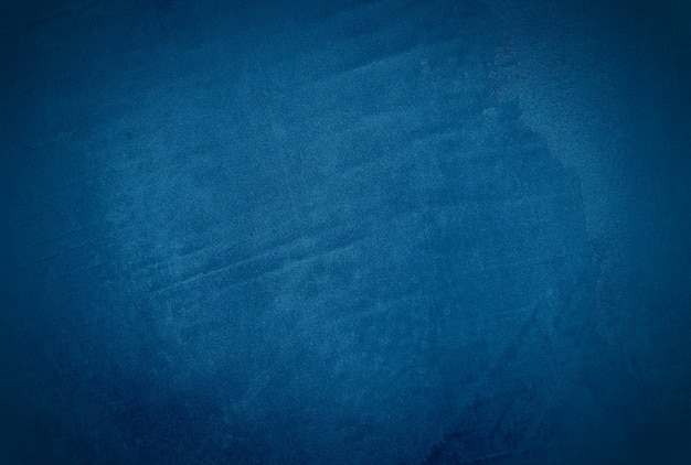 Vintage grunge blaue beton textur studio wand hintergrund mit vignette. Kostenlose Fotos