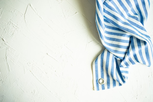 Vintage handtuch abgestreift Premium Fotos
