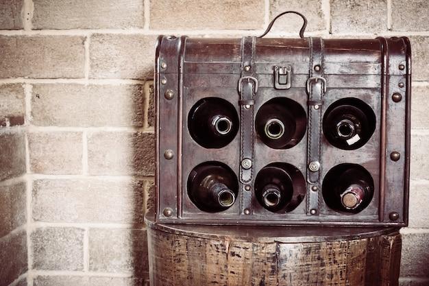 Vintage weinflasche Kostenlose Fotos