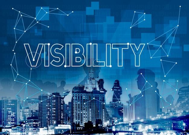 Vision visibility beobachtbar merkbar grafik konzept Kostenlose Fotos