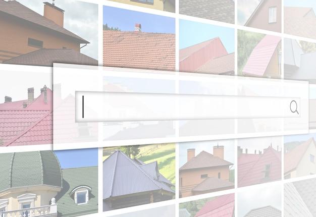 Visualisierung der suchleiste Premium Fotos