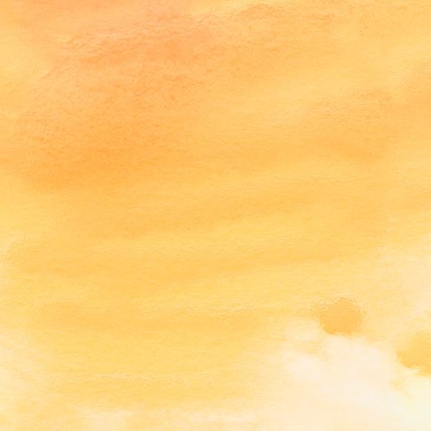 Voller rahmen des gemalten gelben wasserfarbpapiers Kostenlose Fotos