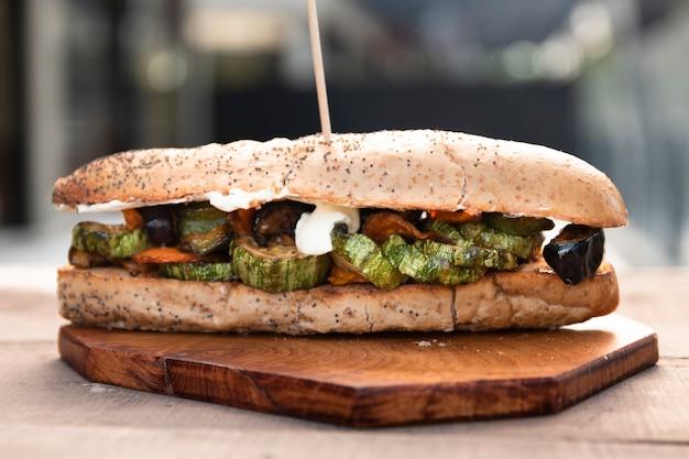 Vorderansicht-vegetarier-u-boot Kostenlose Fotos