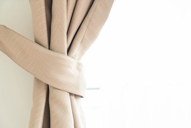 Vorhang mit sonnenlicht Kostenlose Fotos