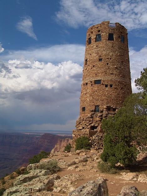 Wachturm grandiosen blick wüste arizona Kostenlose Fotos