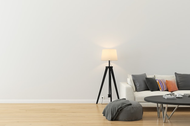 Wand textur hintergrund holz marmor boden sofa stuhl lampe Premium Fotos