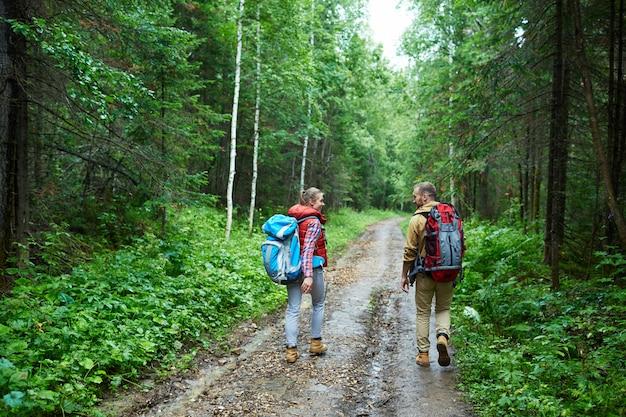 Wanderer unterwegs Kostenlose Fotos