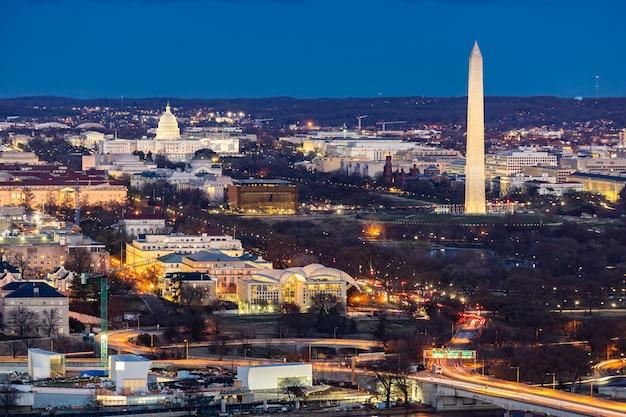 Washington dc antenne Premium Fotos