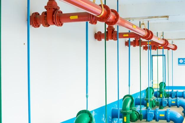 Wasseraufbereitungsanlagen der wasserwerke in thailand. Premium Fotos