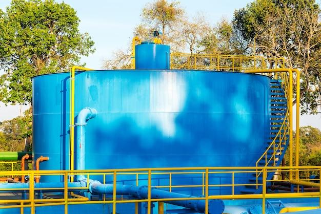 Wasseraufbereitungsanlagen Premium Fotos