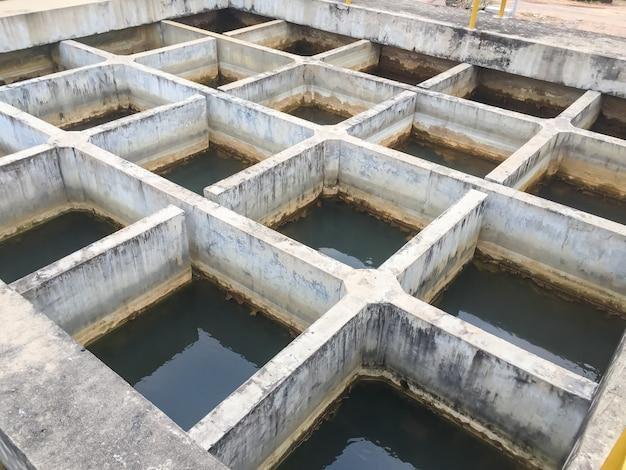 Wasseraufbereitungsprozess Premium Fotos