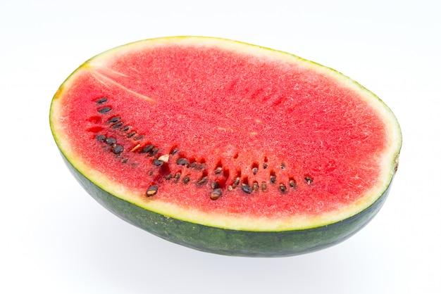 Wassermelone getrennt auf weiß Kostenlose Fotos