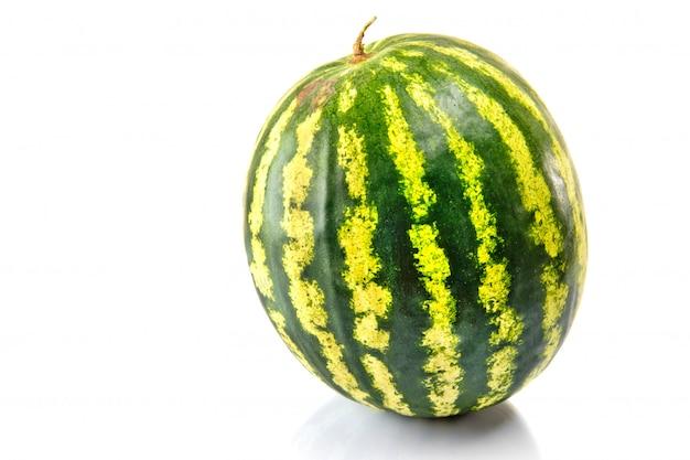 Wassermelone isoliert auf weiß Premium Fotos